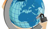 "Illustration on ending ""internationalism"" by Linas Garsys/The Washington Times"