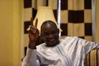 Gambian president-elect Adama Barrow during an interview in December 2016. Reuters/Afolabi Sotunde