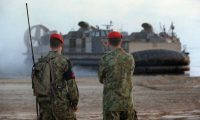 'The US marine base in Darwin ... and the implications it holds for Australian freedom of action should the US decide to militarily intervene in the South China Sea are troubling.' Photograph: Patrina Malone/PR IMAGE