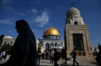 The Dome of the Rock at the Aqsa Mosque in Jerusalem's Old City. Ahmad Gharabli/Agence France-Presse — Getty Images