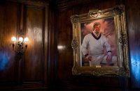 A painting of Donald Trump at Mar-a-Lago, in Florida. Eric Thayer for The New York Times