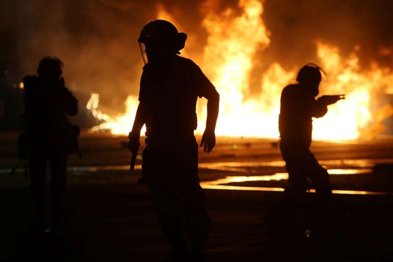 For Brazilian citizens, it sometimes feels like the whole country is on fire right now. Adriano Machado/Reuters