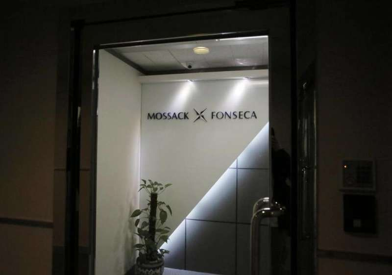 Entrance of the Hong Kong regional head office of Panama-based law firm Mossack Fonseca, one of the world's biggest creators of shell companies. Vincent Yu - AP