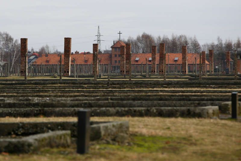 The church at the Auschwitz-Birkenau death camp in Poland last year. Kacper Pempel/Reuters