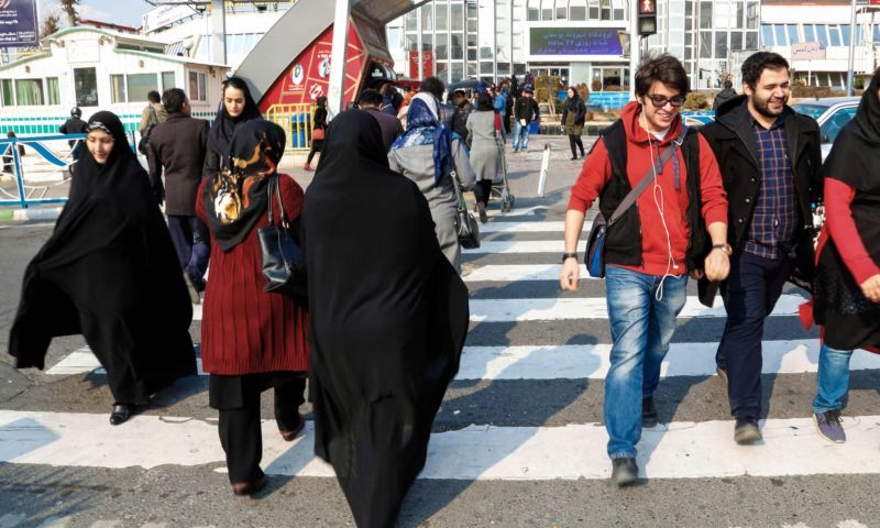 Tehran: 'More work is needed, including domestic economic reforms, to make these positive results trickle down to the Iranian population, especially its youth. But the trend is absolutely clear, and progress undeniable.' Photograph: Atta Kenare/AFP/Getty Images