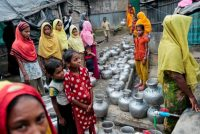 Rohingya from Myanmar at a refugee camp in Teknaf, Bangladesh, in December. Some 65,000 Muslims have since fled to Bangladesh, according to the United Nations. Credit Associated Press