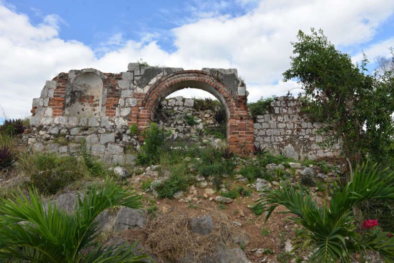 Ruins of the Great House where Leonard Howell lived at Pinnacle, St. Catherine, Jamaica, January 4, 2014. David McFadden/AP Images