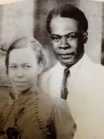 Leonard Howell with his wife Tyneth Howell, circa 1930 (The Leonard P. Howell Foundation)