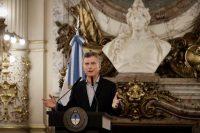 El presidente argentino Mauricio Macri durante una rueda de prensa el 16 de febrero en la que dijo que renegociará el acuerdo por la condonación de una deuda millonaria de El Correo, diario de su padre. Credit Victor R. Caivano/Associated Press