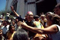 Archbishop Óscar Arnulfo Romero, the year before his murder by right-wing paramilitaries, El Salvador, 1979. Susan Meiselas/Magnum Photos