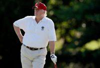 Donald Trump, en junio de 2012. El golf ha sido parte de su vida como empresario y ahora busca incorporarlo a su vida como presidente. Credit Patrick Semansky/Associated Press