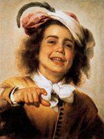 Murillo - El joven gallero