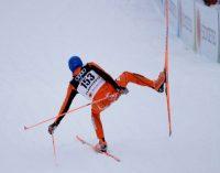 El venezolano Adrian Solano durante su participación en el Campeonato Mundial de Esquí Nórdico en Lahti, Finlandia, el 23 de febrero de 2017. Matthias Schrader/Associated Press