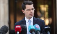'Our frontline in the Brexit battle': Northern Ireland secretary James Brokenshire after the breakdown of power-sharing talks on 27 March.