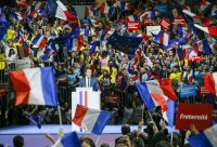 Members of French presidential candidate Emmanuel Macron's team have accused Russia of hacking the campaign. Robert Pratta/Reuters