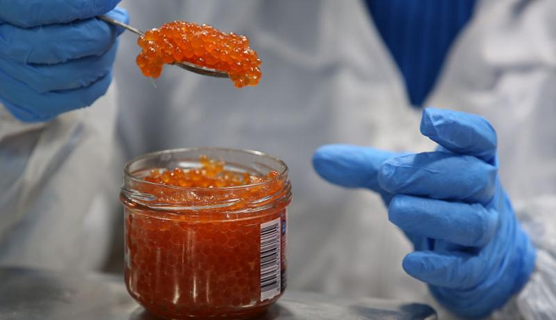 Measuring caviar at Russian Sea JSC's plant in Noginsk. Sectoral sanctions had a more widespread impact than simply the organizations on which they were officially imposed. Photo: Getty Images