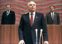 Mikhail Gorbachev in 1990. Credit V. Armand/Agence France-Presse — Getty Images