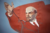 Mural of Vladimir Lenin. Credit Shepard Sherbell/Corbis SABA, via Getty Images