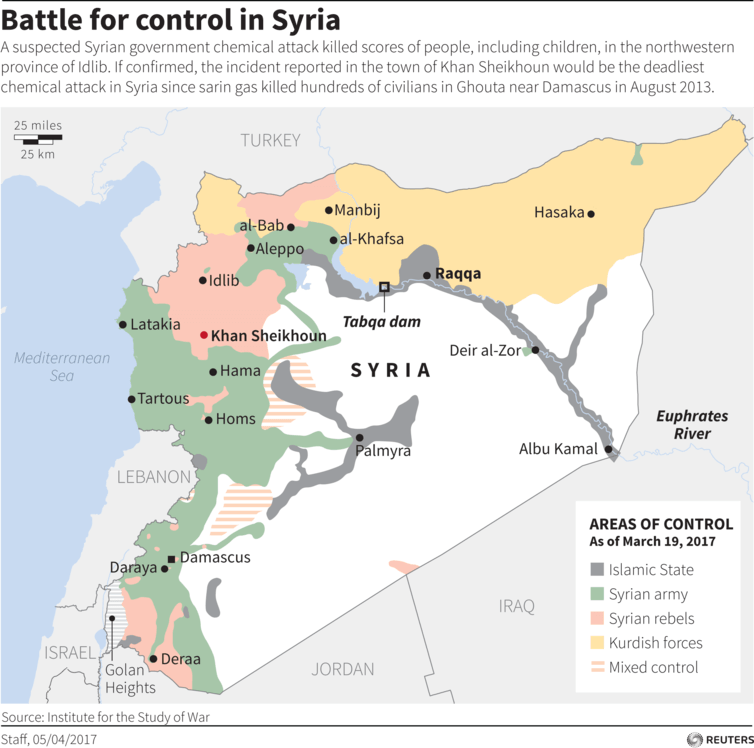 Will the US missile strike be the turning point in Syria's shifting war