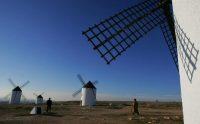 Molinos de viento en Campo de Criptana, España. Credit Pierre-Philippe Marcou/Agence France-Presse — Getty Images