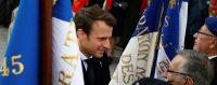 Le président élu Emmanuel Macron, cérémonie du 8 mai. Paris © REUTERS/Francois Mori