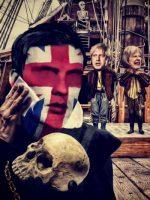 Retrato de Hamlet con un lapo en la mejilla