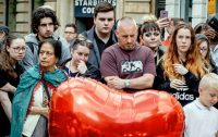 A vigil in Manchester last week. Credit Andrew Testa for The New York Times