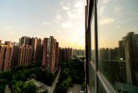A view of residential buildings in Beijing's Tongzhou District in May. Credit Zhang Peng/LightRocket, via Getty Images