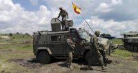 Soldados españoles participan en el ejercicio Noble Jump de la OTAN en Rumanía. Rosa Jiménez - EFE