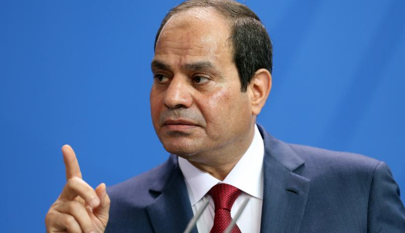 Egyptian President Abdel-Fattah el-Sisi at a press conference in Berlin in 2015. Photo: Getty Images.