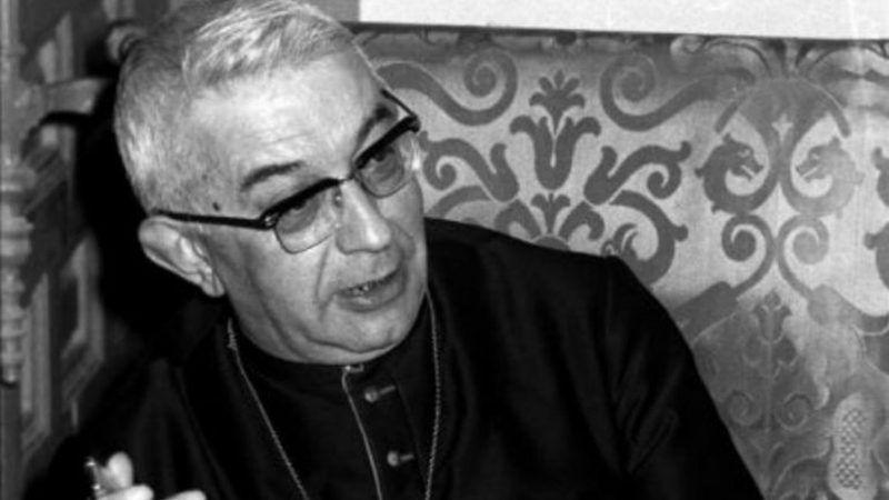 El Cardenal Tarancón en una imagen de archivo. EFE