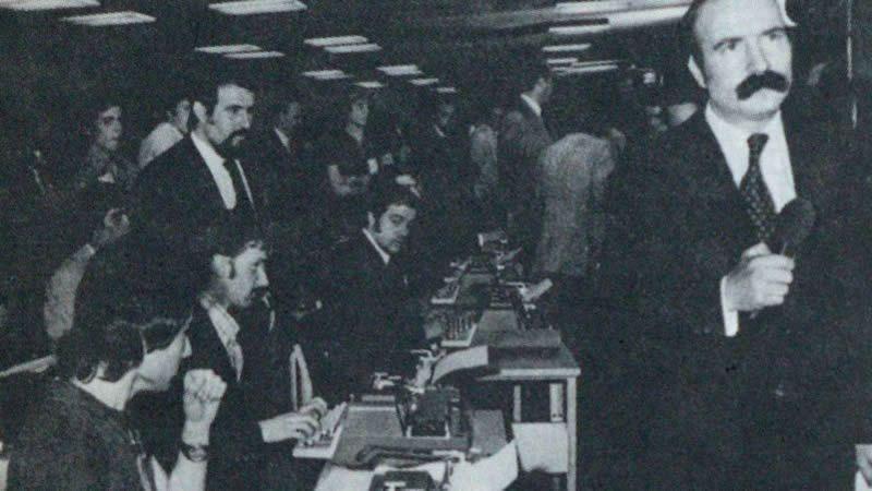 El periodista de Televisión Española Heras Lobato.