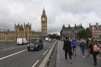 Le pont de Westminster avec Big Ben et le Parlement en arrière-plan dans le centre de Londres, le 9 juin 2017. Paul Ellis - AFP