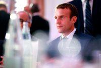 Le président Emmanuel Macron a participé à l'iftar annuel du Conseil français du culte musulman (CFCM), à Paris, mardi soir. Credit Benjamin Cremel/Agence France-Presse — Getty Images