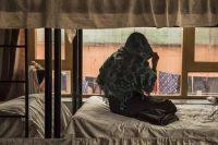 Un refuge accueille des femmes victimes de viols ou de mariages forcés, à Kaboul (Afghanistan), le 20 mars. REBECCA CONWAY / AFP