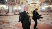 Komandir/Showtime. A still from Oliver Stone's The Putin Interviews, 2017