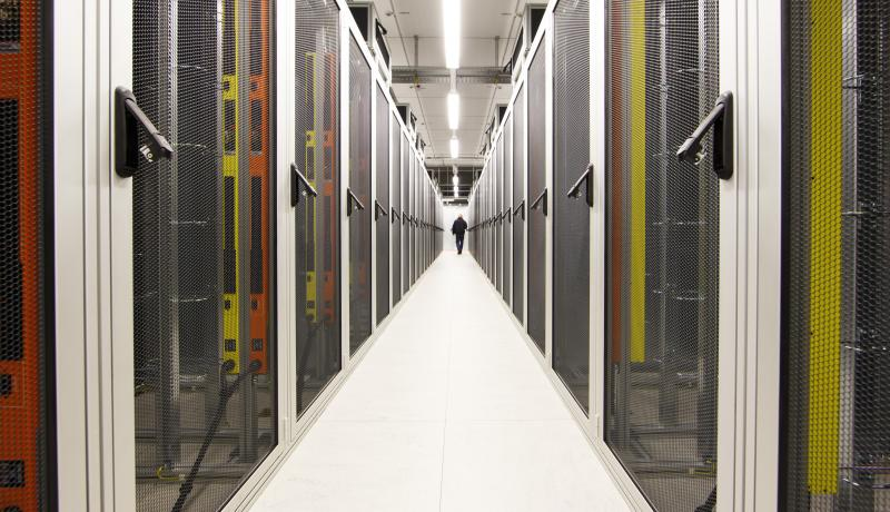 Data centre for T-Systems, a subsidiary of Deutsche Telekom. Photo by: Thomas Trutschel/Photothek/Getty Images