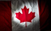 A Canadian flag. The country is celebrating its 150th birthday. (Brent Lewin/Bloomberg)