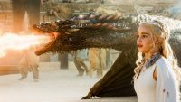 """Emilia Clarke as Daenerys Targaryen, the Mother of Dragons, in """"Game of Thrones. (Courtesy of HBO)"""