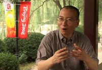 AP Video via AP Images. Liu Xiaobo at a park in Beijing, July 24, 2008