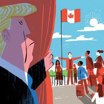 Lo que los canadienses le pueden enseñar a Trump sobre migración