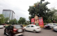 A cutout of Prime Minister Narendra Modi of India on a pro-Goods and Services Tax sign in New Delhi last month. Credit Harish Tyagi/European Pressphoto Agency