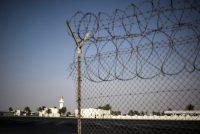 A fence at the border between Qatar and Saudi Arabia. Credit Valeriy Melnikov/Sputnik, via Associated Press