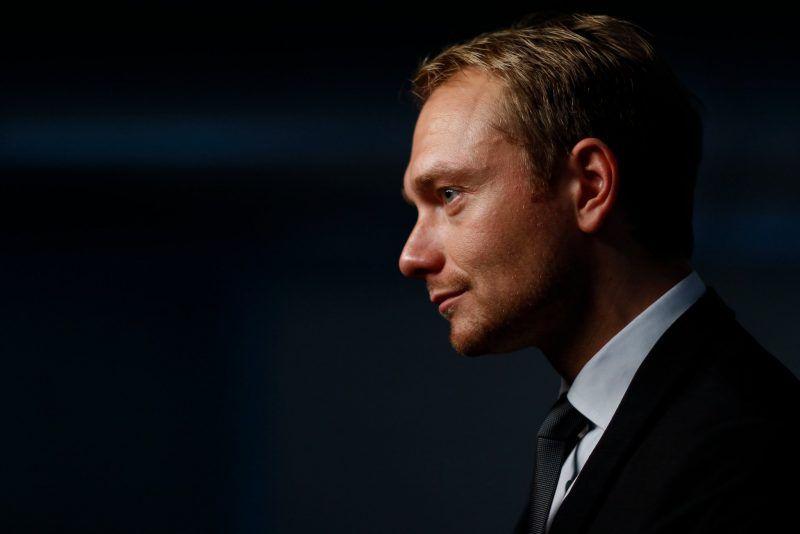 The Free Democrat Secretary-General, Christian Lindner, in 2011. Credit Pawel Kopczynski/Reuters