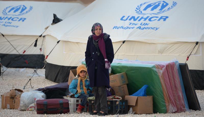 Za'atari refugee camp in Jordan. Photo: Getty Images.