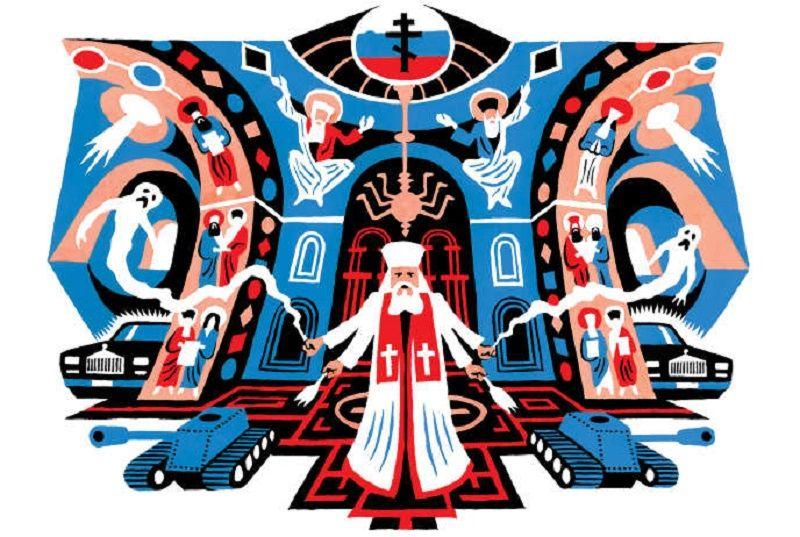 L'Eglise orthodoxe russe occulte la société