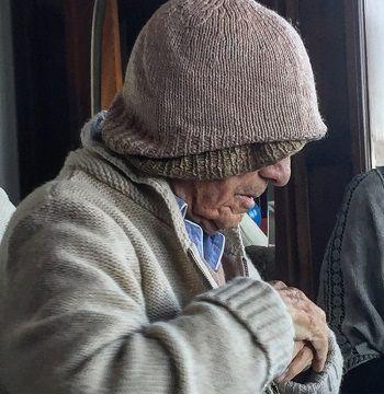"""""""La antipoesía es una manera de pasarla bien"""", dijo recientemente Nicanor Parra, quien acaba de cumplir 103 años. Credit Patricio Fernández"""