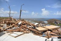A house in ruins in Puerto Rico. Credit Hector Retamal/Agence France-Presse — Getty Images