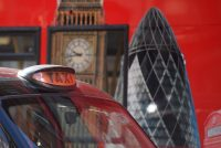 A cab in central London. Toby Melville/Reuters
