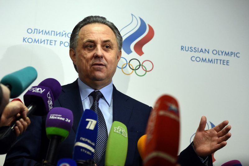 Vitaly Mutko, who was Russia's sports minister during the Sochi Olympics. Vasily Maximov/Agence France Presse - Getty images